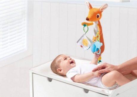 Et godt puslebord til baby
